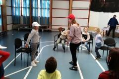Deze oefening laat pesters kletsen (in Haarlem met 5-8 jarigen op 12 april 2016)