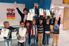 Kleine Kanjers halen hun diploma in Hoofddorp op 17 februari 2016