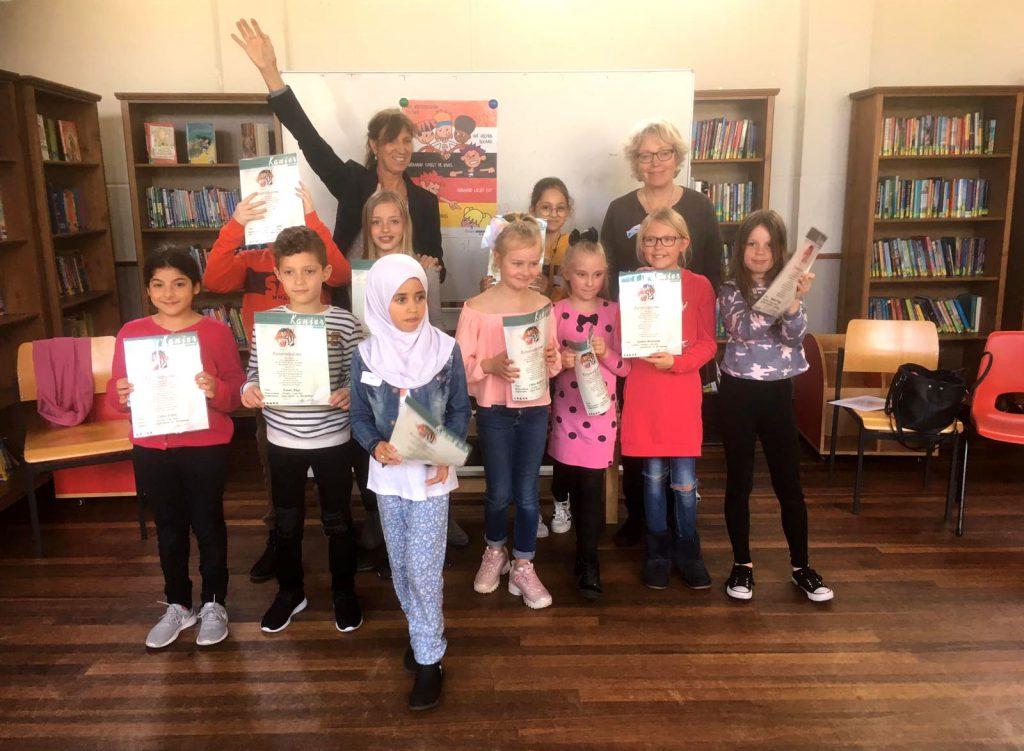 Op 8 mei 2019 behaalden 12 kinderen hun Kanjerdiploma in Haarlem Oost!